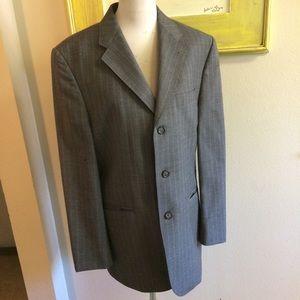 Express Suit 40R Director Pants 32/30 Gray